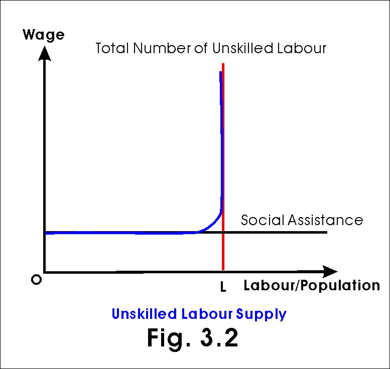 unskilled labour supply