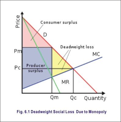 social loss due to monopoly